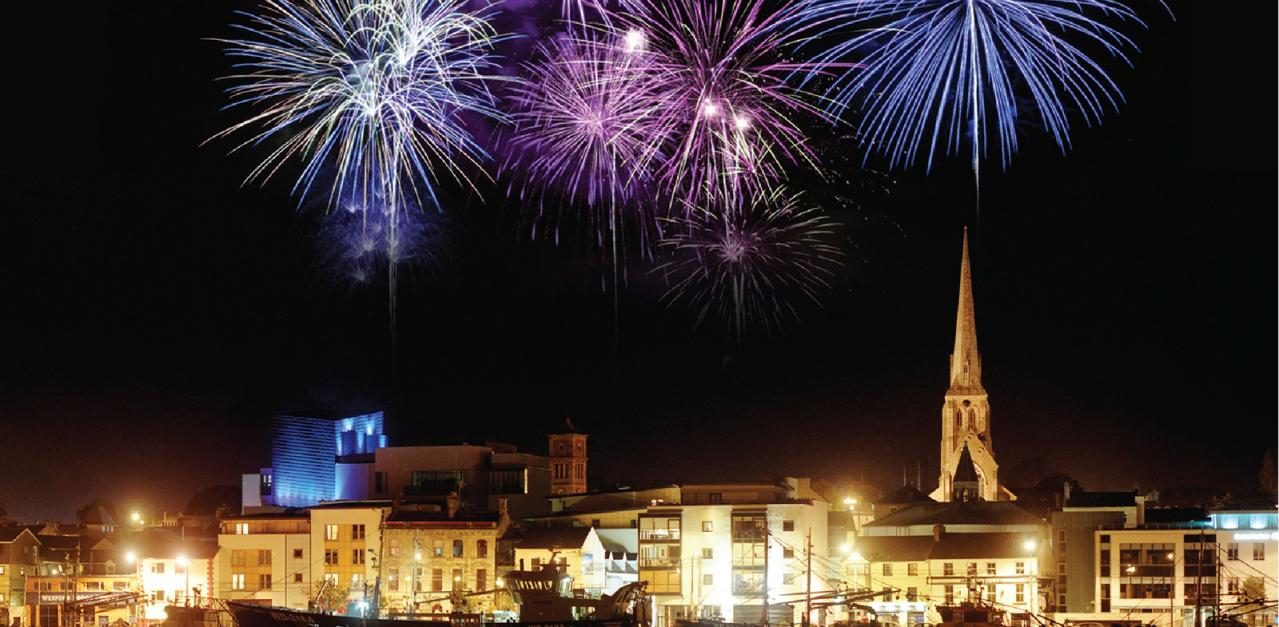 Fireworks to light up the skies of wexford on october 23 for The wexford