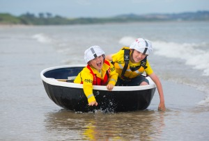 Free To Use Image. Getting some practise in ahead of the Wexford Maritime Festival are brothers Scott (age 8) and Rhys (age 5) Foley; the country's largest maritime festival will be celebrated in Wexford from June 20 to 21 on Wexford's Quayside – see visitwexford.ie. Picture: Patrick Browne.