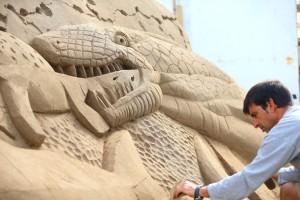 Duncannon sandsculpting